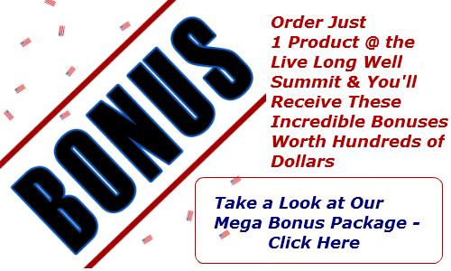 Live Long Well Virtual Summit bonus package